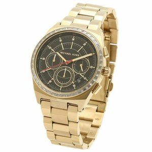 Michael Kors 6446 Gold Stainless Chronograph Watch